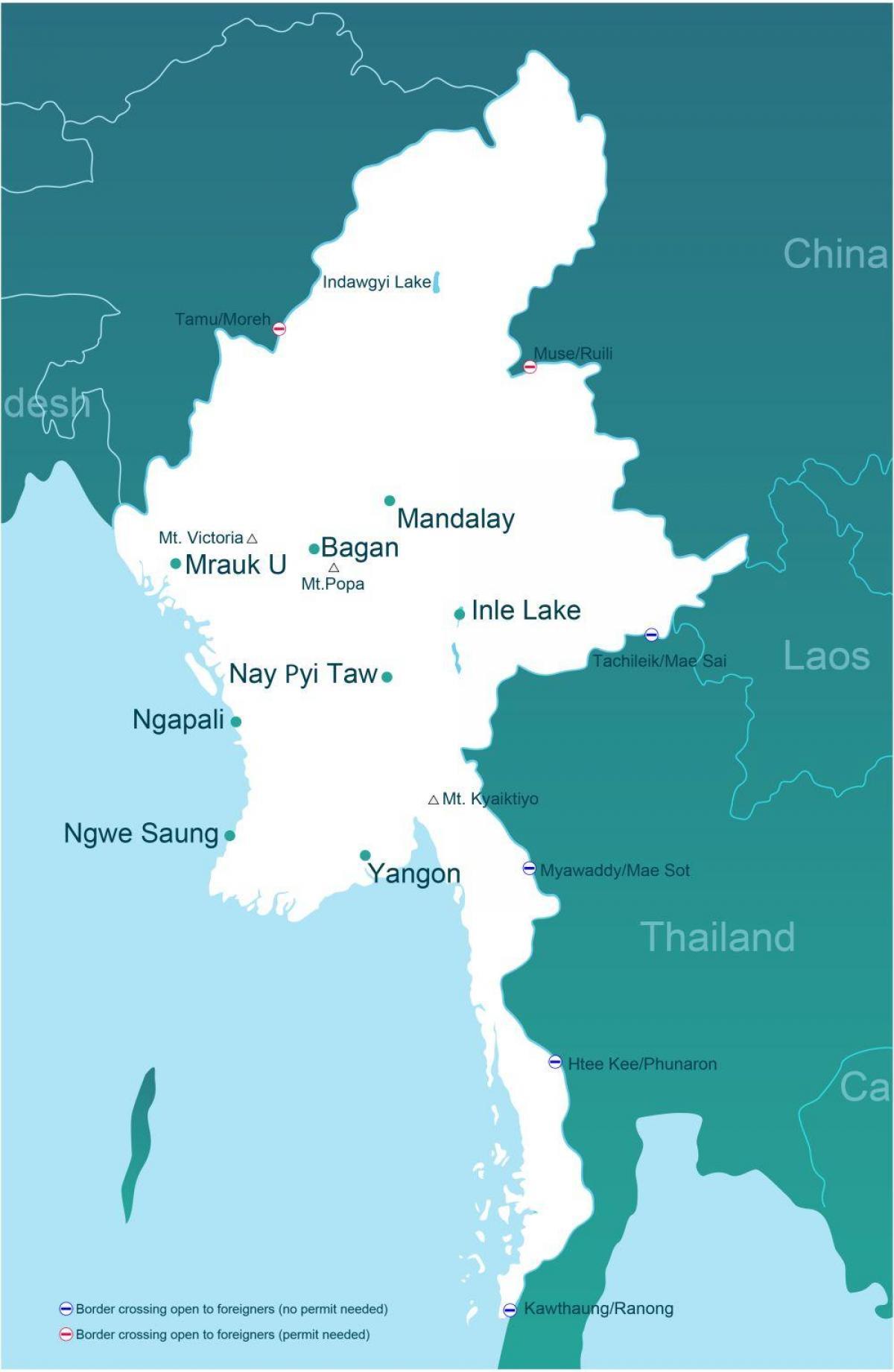 Karta Och Avstand.Myanmar Avstand Karta Karta Over Myanmar Avstand Sydostra Asien